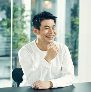 かっこ株式会社代表取締役社長岩井氏の写真